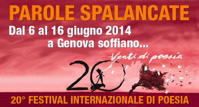 20° Festival Internazionale di Poesia